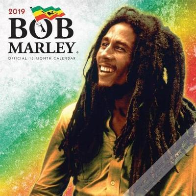 Bob Marley 2019 Square by Inc Browntrout Publishers