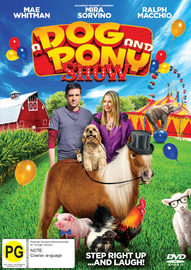 A Dog And A Pony Show on DVD