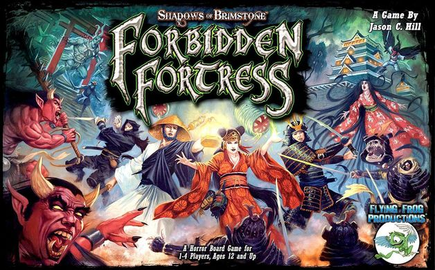 Shadows of Brimstone: Forbidden Fortress - Board Game