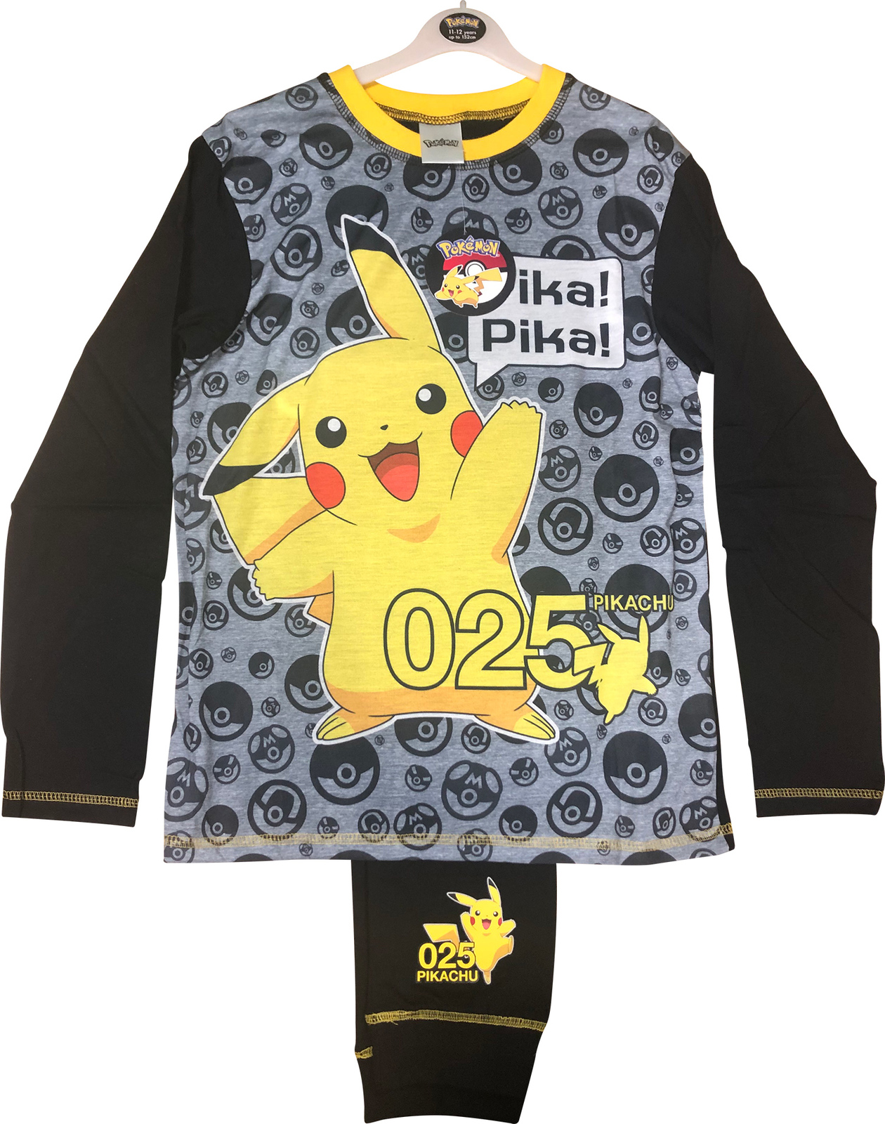 Pokemon: Pikachu - Kids Pyjama Set (5-6) image