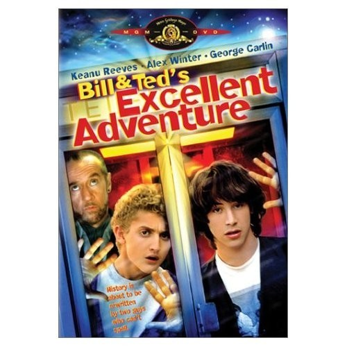 Bill and Ted's Excellent Adventure on DVD