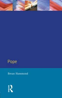 Pope by Brean S. Hammond image