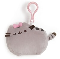 Pusheen Backpack Clip Bow