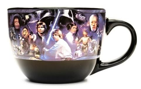 Star Wars Collage - Ceramic Soup Mug image