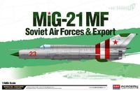 Academy MIG 21 MF Soviet Airforce & Export 1/48 Model Kit
