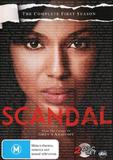 Scandal - The Complete First Season on DVD