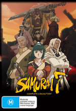 Samurai 7 - Complete Collection (7 Disc Box Set) on DVD