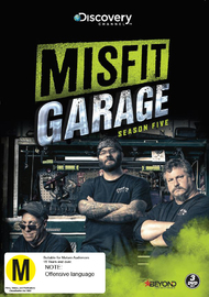 Misfit Garage - Season Five on DVD