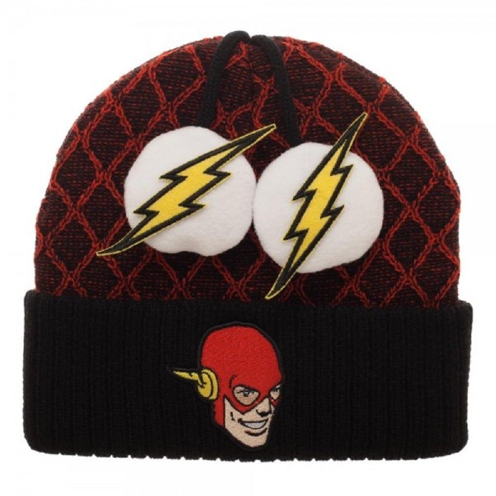 DC Comics: Flash - Lighting Pom Beanie image