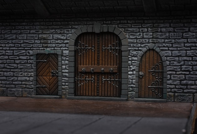 TerrainCrate: Dungeon Doors