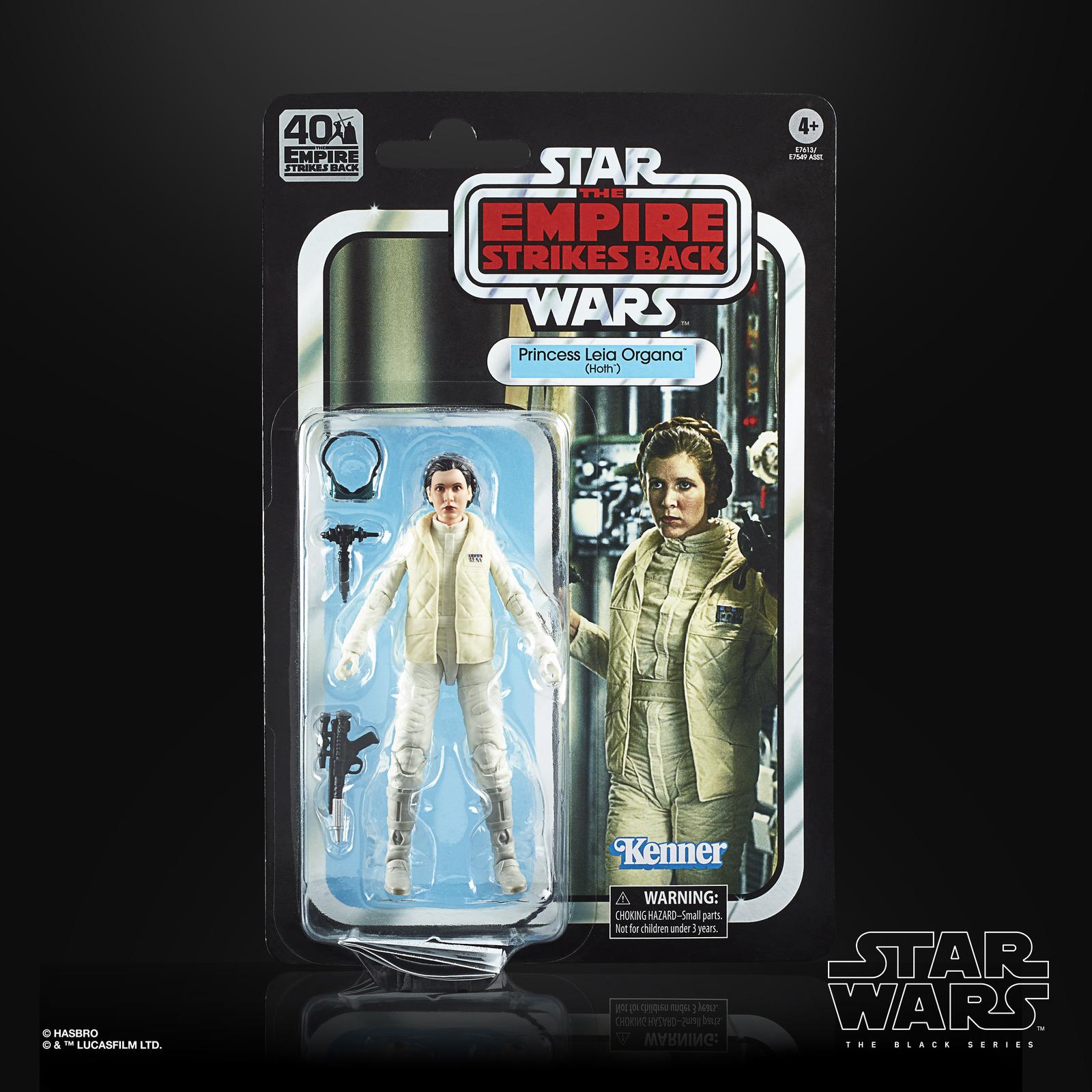 Star Wars: The Black Series Vintage Figure - Princess Leia Organa (Hoth) image
