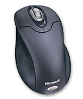 Microsoft Wireless Optical Mouse with Tilt - Steel Blue