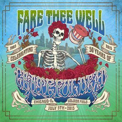 Fare Thee Well (4CD + 2DVD) on CD by The Grateful Dead image