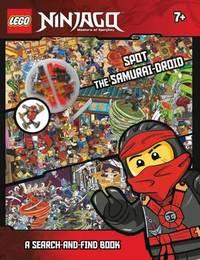 LEGO Ninjago Spot the Samurai-Droid A Search-and-Find Book