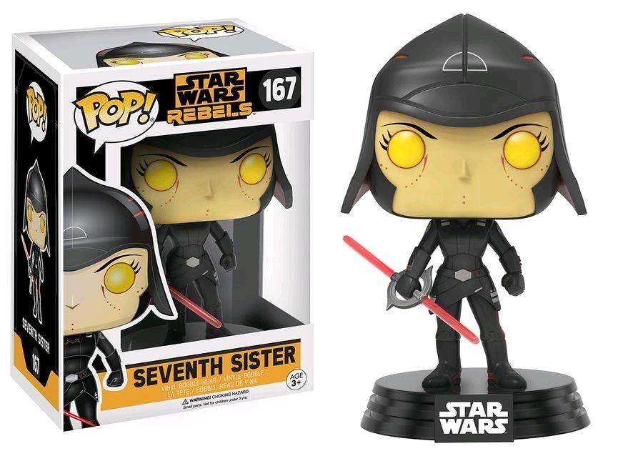 Star Wars: Rebels - Seventh Sister Pop! Vinyl Figure image
