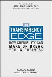The Transparency Edge by Elizabeth Pagano