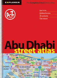 Abu Dhabi Street Atlas (jumbo): Auh_atj_1 by Explorer Publishing and Distribution image
