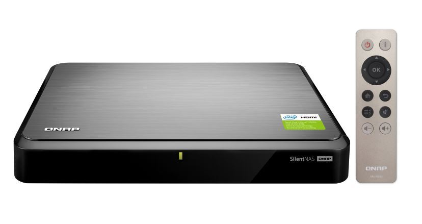 Qnap Hs-251+(2Gb) 2-Bay Turbonas (No Disk), Fanless, Intel 2.0-2.42Ghz, 2Gb Ram, 2Xgbe Lan, Sata Hdds, Usb 3.0, Hdmi image