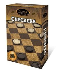 Classic Games: Boxed Board Game - Checkers