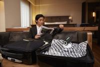 VAGO: Portable USB Vacuum Baggage Compressor. image