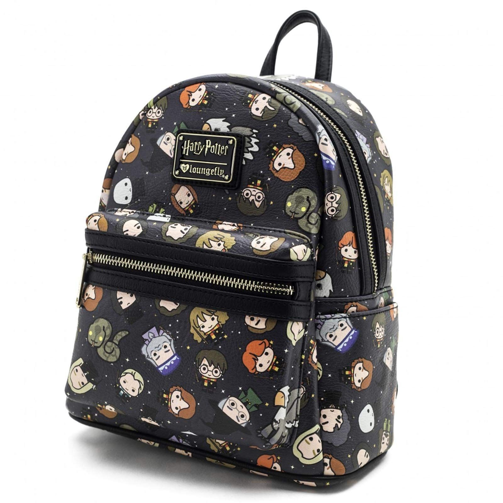 ... Loungefly  Harry Potter - Chibi Print Mini-Backpack image 144cdae58c729