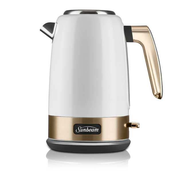 Sunbeam: New York Collection Jug Kettle - White Gold