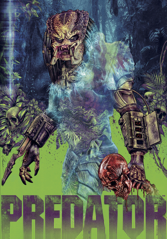 Predator: Premium Art Print - Classic Poster