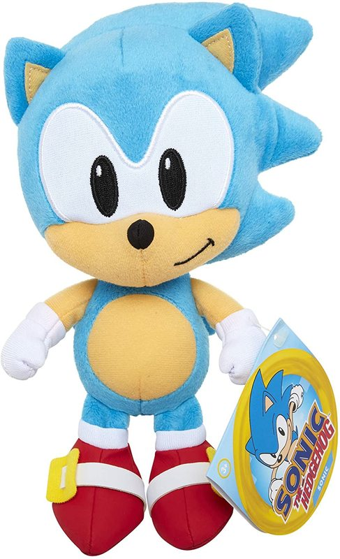 Sonic The Hedgehog: 18cm Basic Plush - Classic Sonic