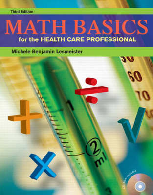 Math Basics for the Health Care Professional by Michele Lesmeister image