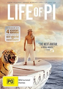 Life of Pi on DVD