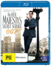 On Her Majesty's Secret Service (2012 Version) on Blu-ray
