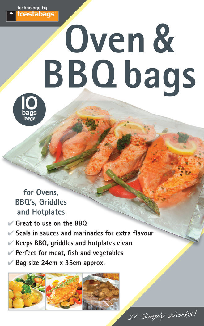 Oven & BBQ Bags Standard (10 Pack) image