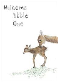 Dear Prudence - Welcome Little One Card