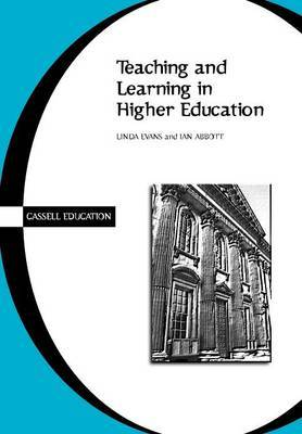 Teaching and Learning in Higher Education by Linda Evans image