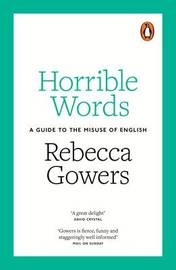 Horrible Words by Rebecca Gowers image