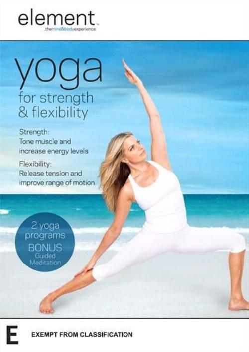 Element: Yoga for Strength & Flexibility on DVD image