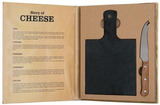 Story of Cheese - 2 Piece Cheese Board Set