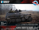 Rubicon 1/56 SdKfz 250/11 & 251/7 Expansion Set