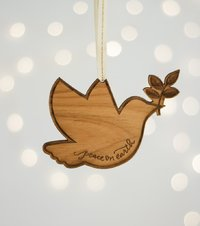 Cardtorial Christmas Ornament - Dove
