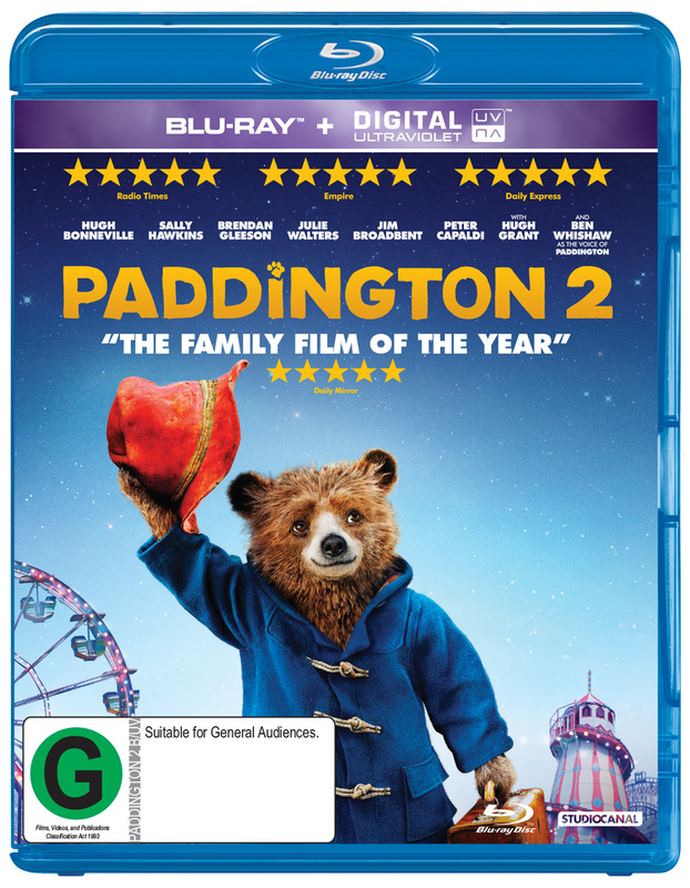 Paddington 2 on Blu-ray
