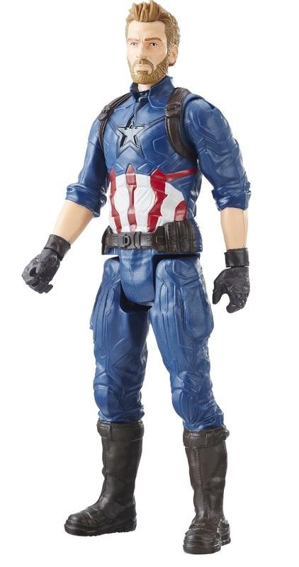 "Avengers Infinity War: Captain America - 12"" Titan Hero Figure"