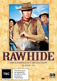 Rawhide Complete Collection on DVD