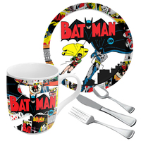 Batman: Retro Comic Single Dinner Set