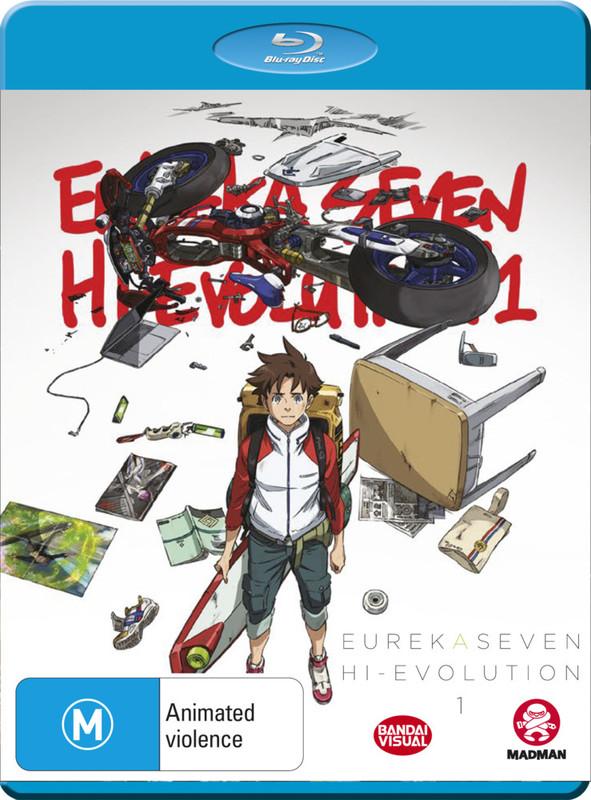 Eureka Seven Hi-evolution on Blu-ray