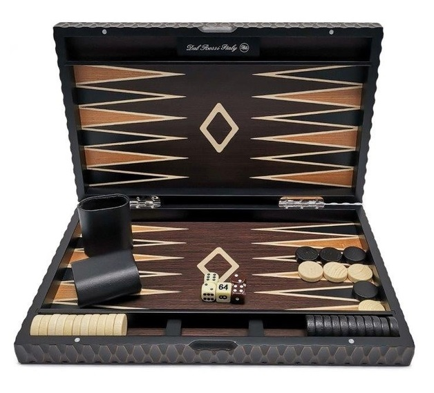 "Dal Rossi: European Style - Backgammon Set (18"")"