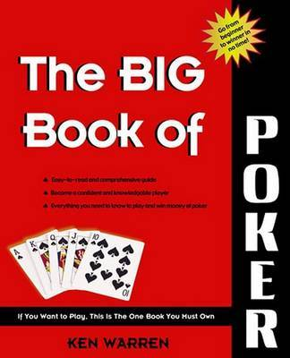 Big Book of Poker by Ken Warren image