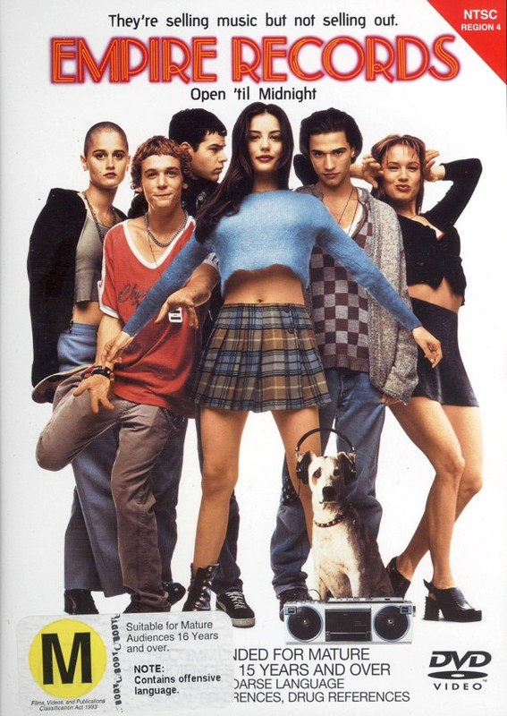 Empire Records on DVD