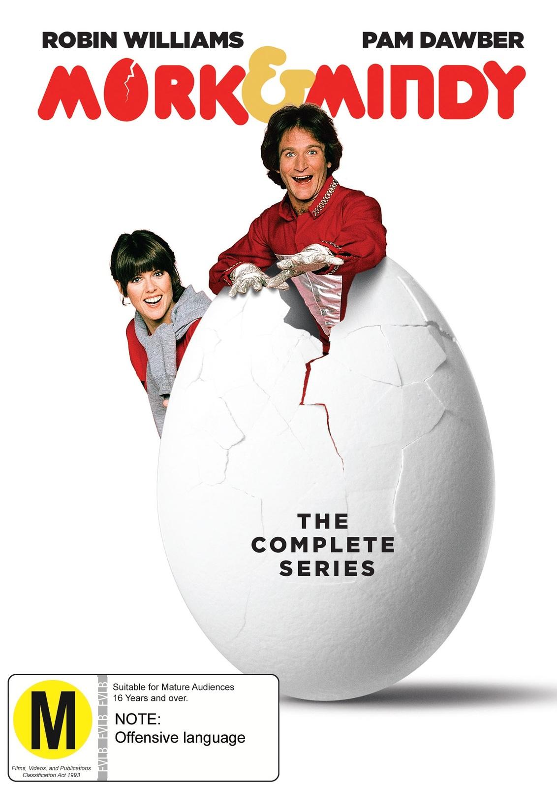 Mork & Mindy Complete Seasons 1-4 on DVD image