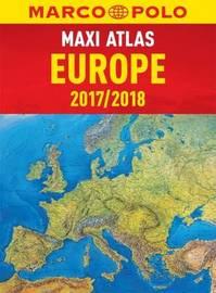 Europe Maxi Atlas by Marco Polo