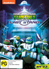 Teenage Mutant Ninja Turtles (2012) - Season 4 Vol 3 - Earth's Last Stand on DVD image